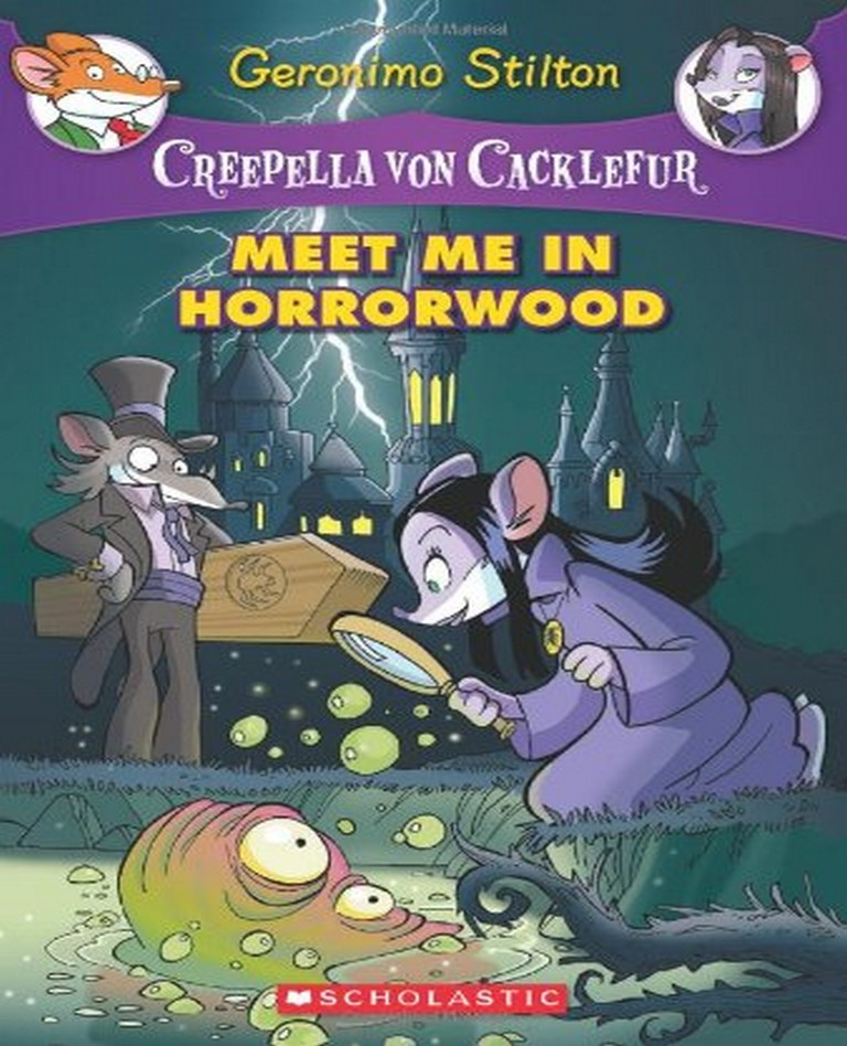 Geronimo Stilton : Meet Me In Horrorwood - skryf Skryf Review